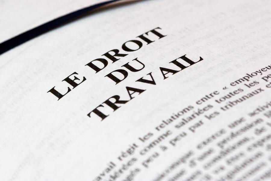 Der französische Code du Travail